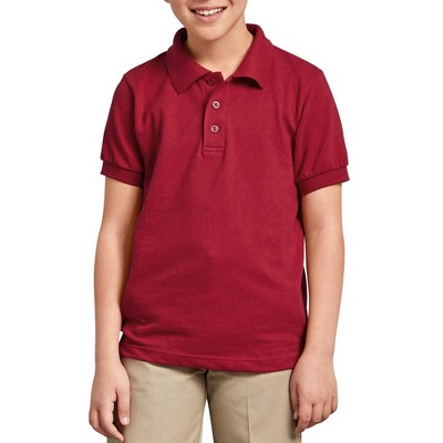 Dickies Boys' Pique Uniform Polo Shirt