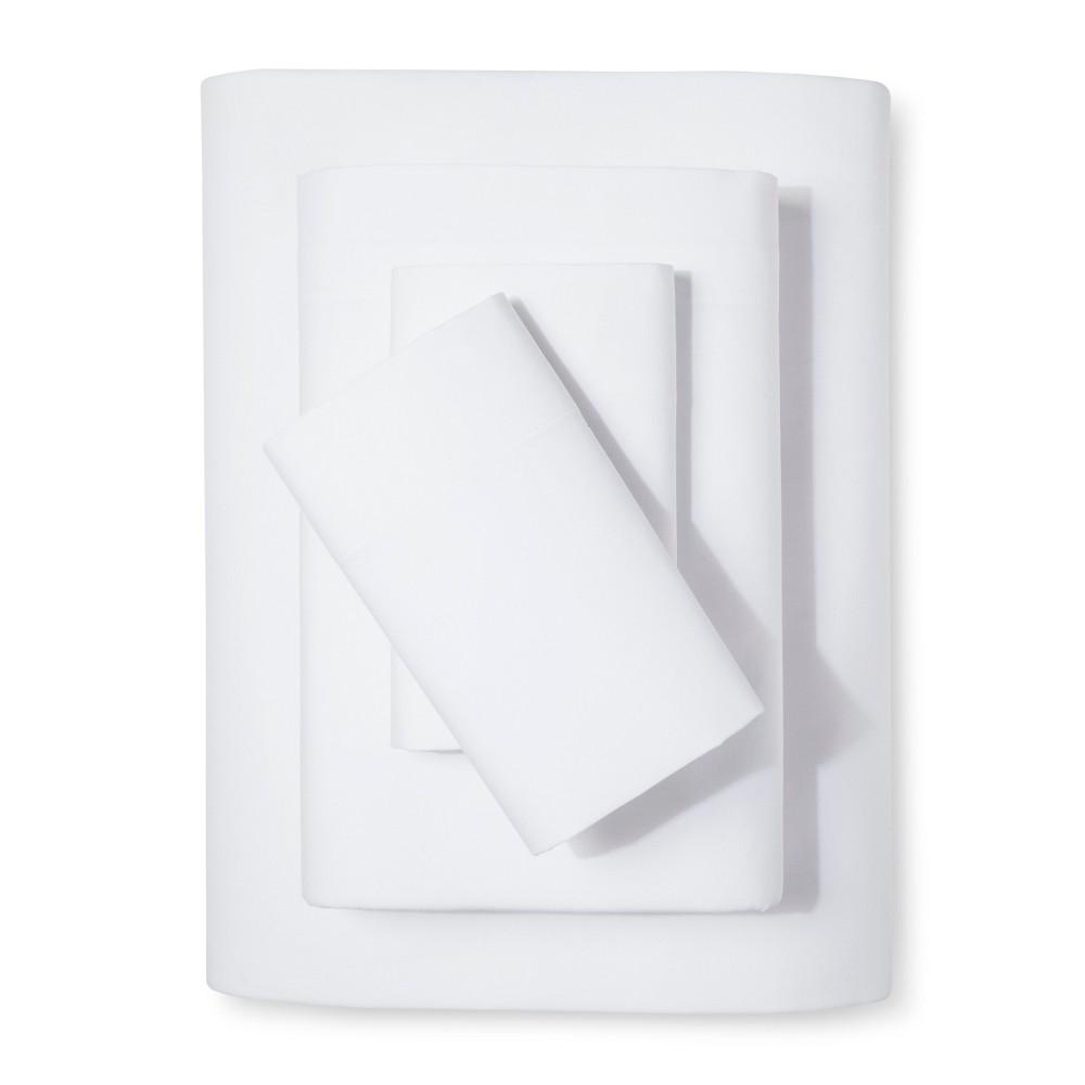 Easy Care Sheet Set (King) White - Room Essentials