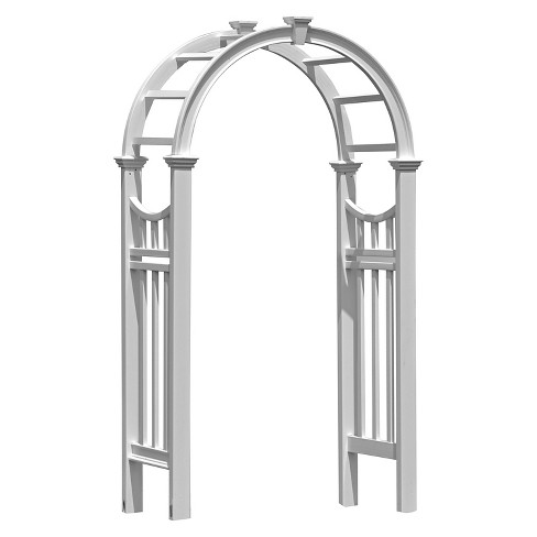 "Vienna 24"" Arbor - White - New England Arbors - image 1 of 2"