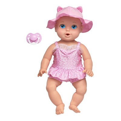 "Perfectly Cute 14"" My Sweet Beach Baby Doll - Blonde with Blue Eyes"