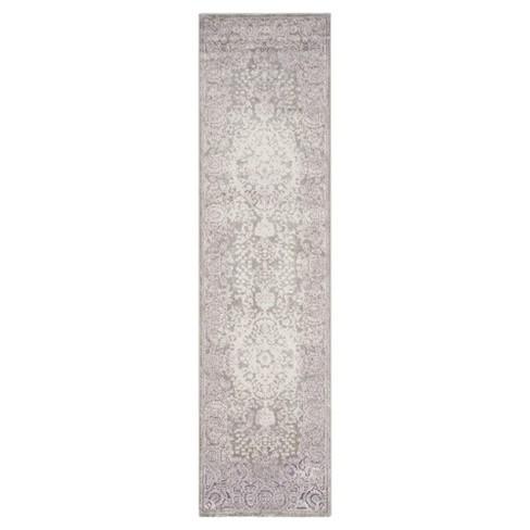 "Metz Runner - Gray / Lavender (2'2"" X 8' ) - Safavieh® - image 1 of 3"