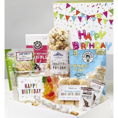 1-800-Baskets Happy Birthday Gift Basket Market Box