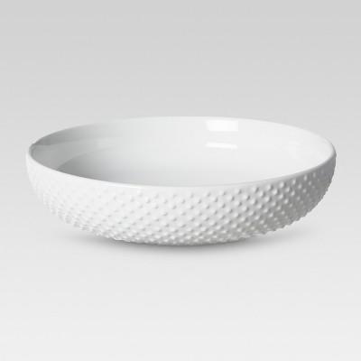 All Over Bead Serving Bowl 96oz - White - Threshold™