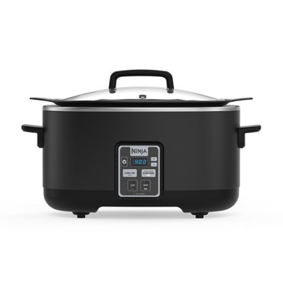 Ninja 2-in-1 Slow Cooker (Slow cooker, Sear/Saute/Brown, 6qt)- MC510