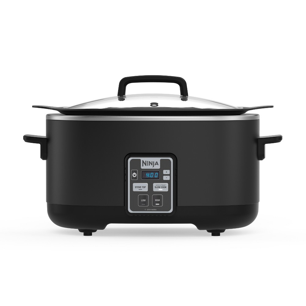 Ninja 2-in-1 Slow Cooker (Slow cooker, Sear/Saute/Brown, 6qt) – MC510, Black 52723238