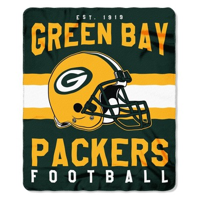 The Northwest Company Green Bay Packers Fleece Throw , Green