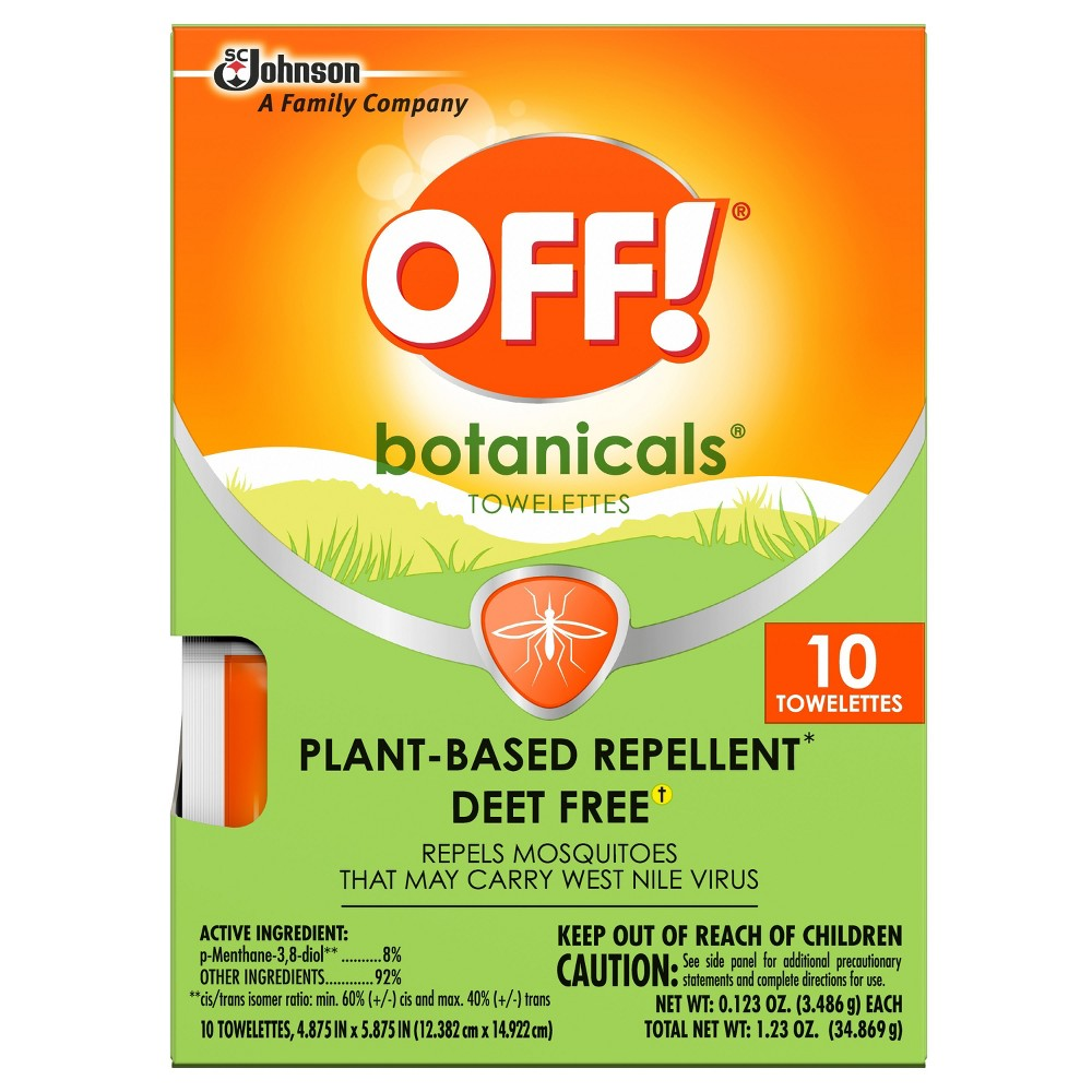 OFF! Botanicals Plant-Based Insect Repellent - 1.23oz