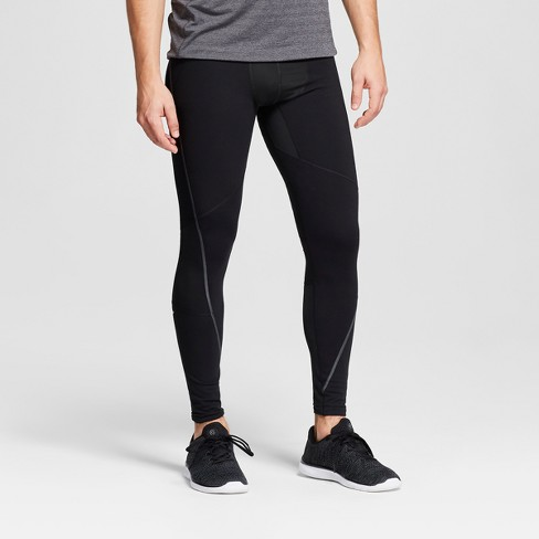 Men's Warm Run Tight - C9 Champion® Black - image 1 of 2