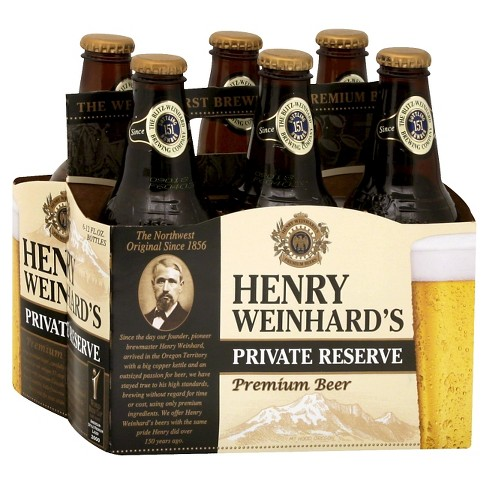 Henry Weinhard's® Private Reserve Premium Beer - 6pk / 12oz Bottles - image 1 of 1
