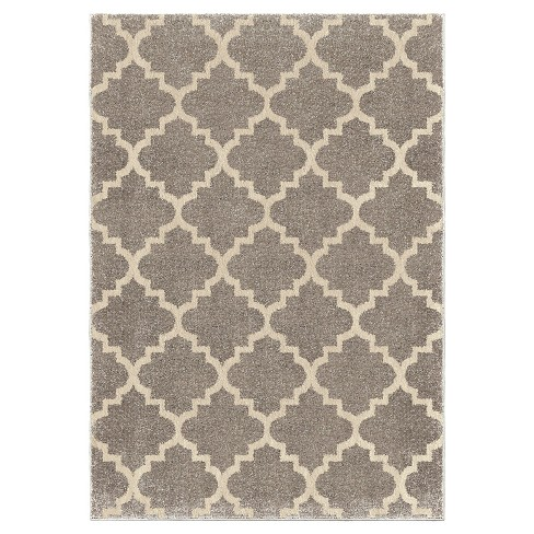 Ginter Gray Rug - Orian - image 1 of 5