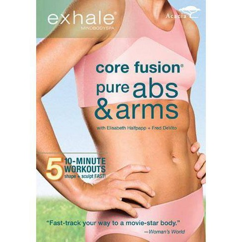 Exhale: Core Fusion / Pure Abs & Arms (DVD) - image 1 of 1