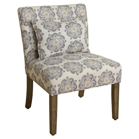 Parker Accent Chair with Pillow - HomePop - image 1 of 4
