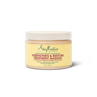 SheaMoisture Treatment Masque For Dry Hair Jamaican Black Castor Oil - 12 fl oz
