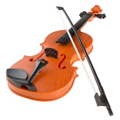 Hey! Play! Musical Toy Violin with Bow (Battery-operated)