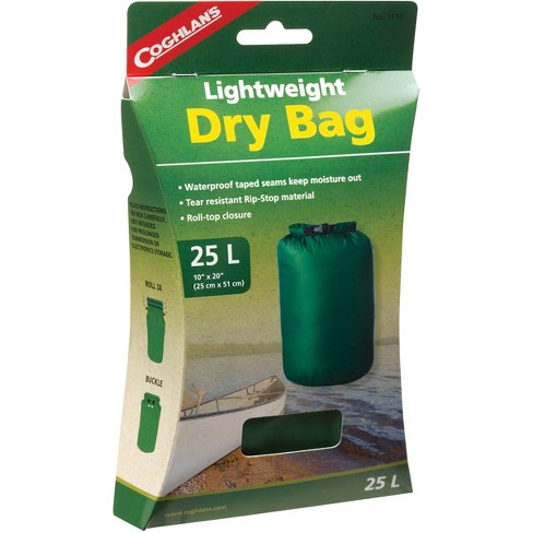 Coghlan's Lightweight Dry Bag, Tear Resistant w/ Roll Top Closure - image 1 of 3