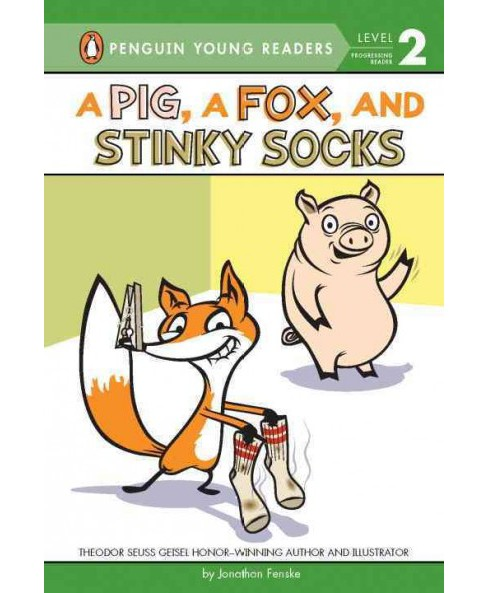 Pig, a Fox, and Stinky Socks (School And Library) (Jonathan Fenske) - image 1 of 1