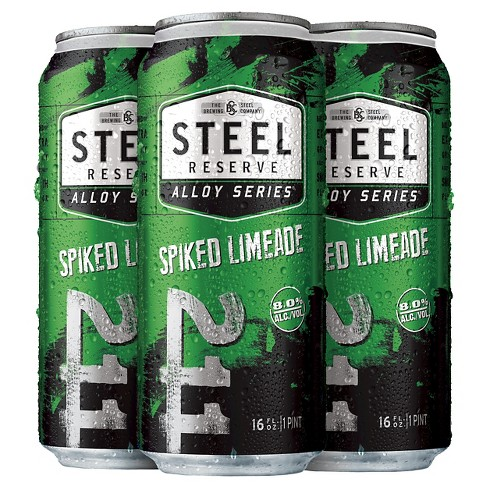 Steel Reserve® Spiked Limeade - 4pk / 16oz Cans - image 1 of 1
