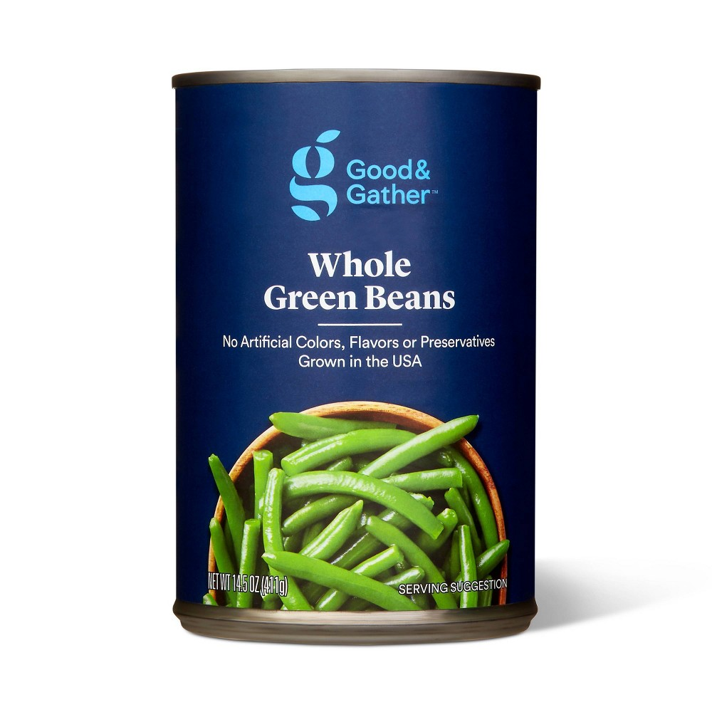 Whole Green Beans 14 5oz Good 38 Gather 8482