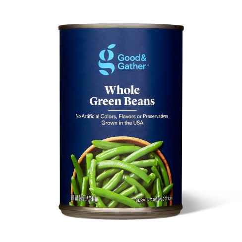 Whole Green Beans 14.5oz - Good & Gather™ - image 1 of 2