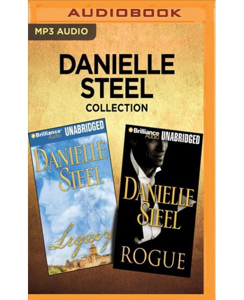 Legacy / Rogue (MP3-CD) (Danielle Steel) - image 1 of 1