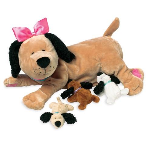 manhattan toy  Manhattan Toy Nursing Nana Dog Nurturing Soft Toy : Target