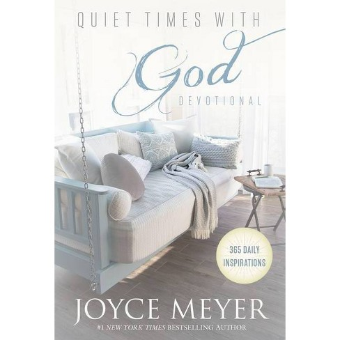 Quiet Times with God Devotional - by  Joyce Meyer (Hardcover) - image 1 of 1