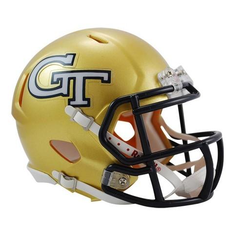 NCAA Georgia Tech Yellow Jackets Riddell Speed Mini - image 1 of 1