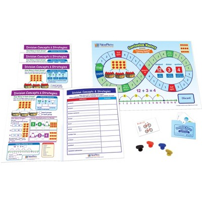 NewPath Learning Division Concepts and Strategies Learning Center Game, Grade 3 to 5