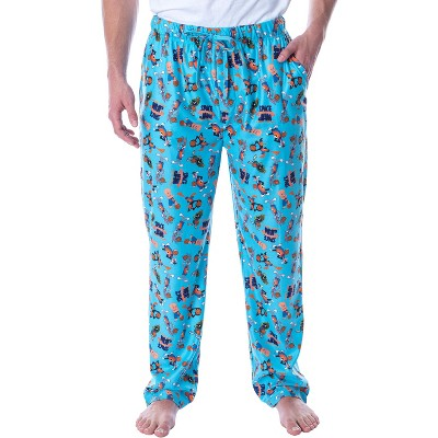 Space Jam A New Legacy Adult Men's Allover Character Loungewear Pajama Pants