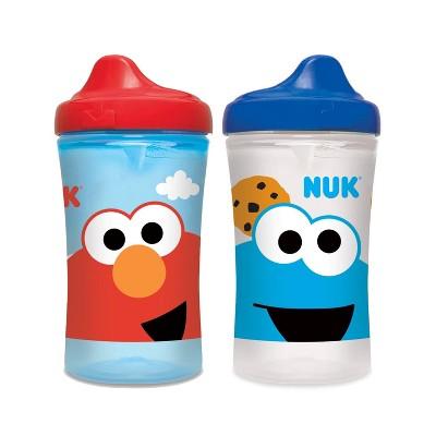 NUK 2pk Hard Spout Cup Sesame Street - 10oz
