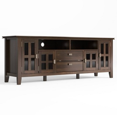 """Stratford Solid Wood TV Stand for TVs up to 80"""" - WyndenHall"""