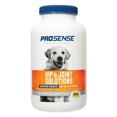 Pro-Sense Glucosamine Advanced Strength Hip & Joint Solutions for Dogs - 60 ct