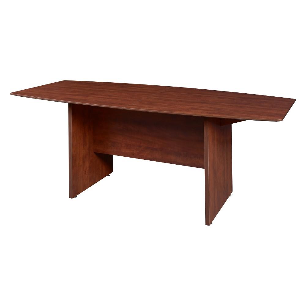 95 Sandia Boat Shape Conference Table Red - Regency