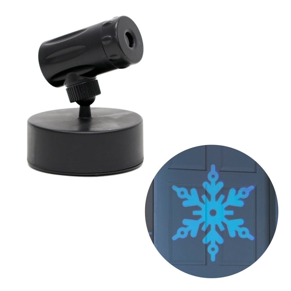 Image of Philips Christmas Battery Operated LED Color Changing Snowflake Projector