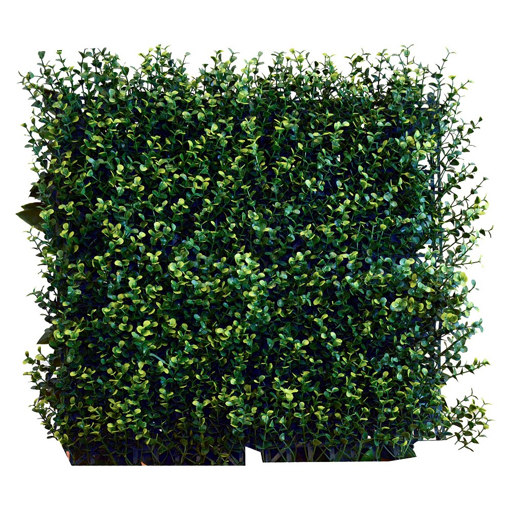 Image of Greensmart Decor Artificial Ficus Spring Panel Set - Green