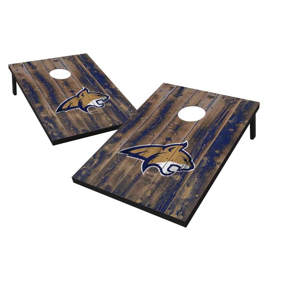 NCAA Montana State Bobcats Wild Sports Barnwood 2'x3' Bean Bag Toss Set
