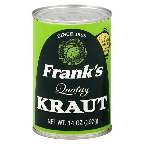Frank's Quality Sauerkraut 14oz - image 1 of 1