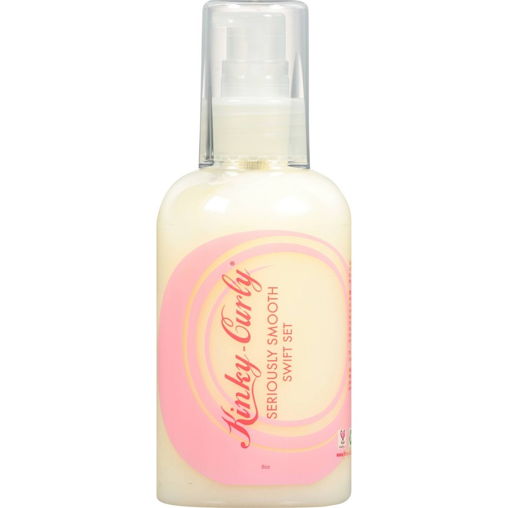 Image of Kinky-Curly Seriously Smooth Swift Set Lotion - 6oz