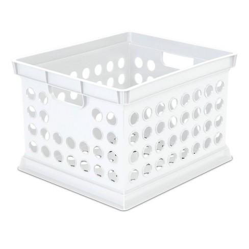Storage Crate White - Room Essentials™ - image 1 of 3