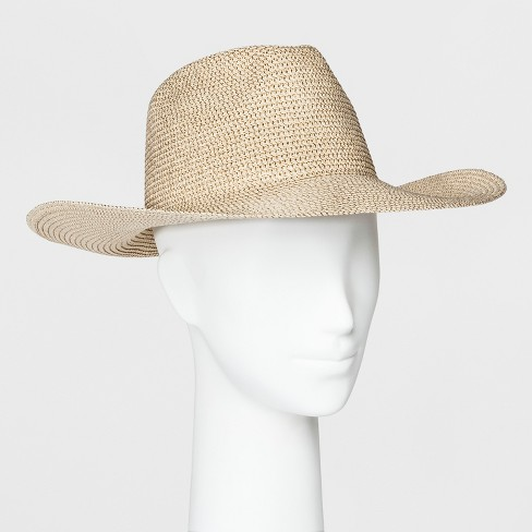 Women's Panama Hat - A New Day™ Tan - image 1 of 1