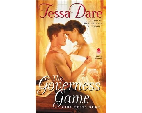 Governess Game -  (Girl Meets Duke) by Tessa Dare (Hardcover) - image 1 of 1