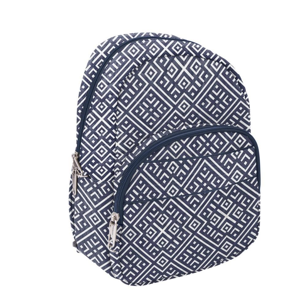 """Image of """"Travelon 13"""""""" RFID Anti-Theft Boho Backpack - Mosaic Tile"""""""