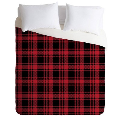 Deny Designs Little Arrow Design Co Fall Plaid Comforter Set