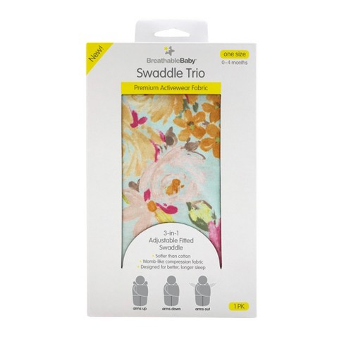 BreathableBaby Swaddle Wrap Trio - image 1 of 4