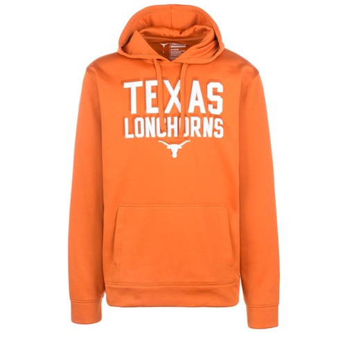 NCAA Men's Long Sleeve Orange Fleece Hoodie Texas Longhorns - image 1 of 1
