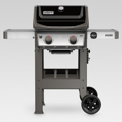 Weber Spirit II E-210 44010001 2-Burner LP Gas Grill Black