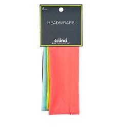 "Scunci  Interlock Headwraps - 2.5"" - 5pk"