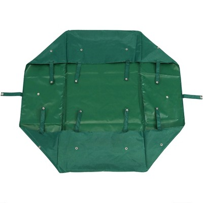 Sunnydaze Decor Heavy-Duty Dumping Utility Cart Liner - Green
