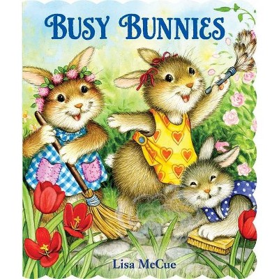 Busy Bunnies - 2nd Edition (Board Book)