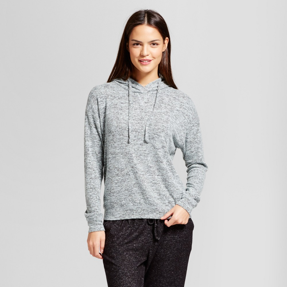 Women's Sleep Sweatshirt - Xhilaration Bleached Aqua (Blue) XL